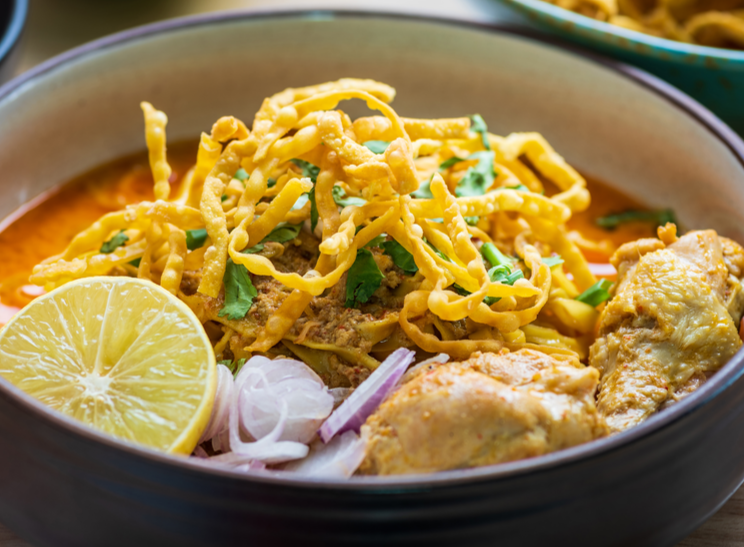 Thai Chicken Curry Noodles Recipe