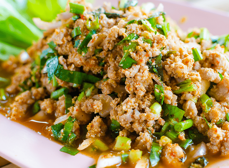 Larb nam tok recipe