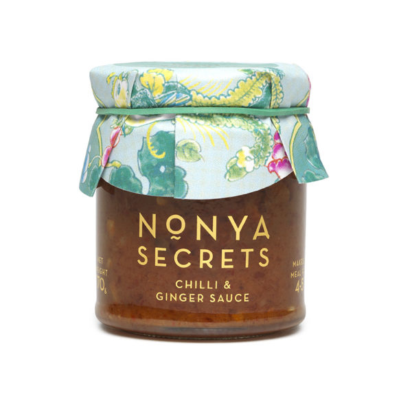 Chilli and Ginger Sauce 170g by Nonya Secrets