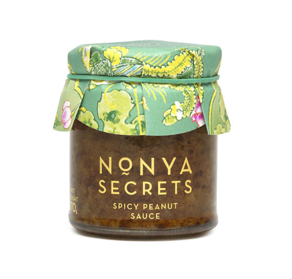 Spicy Peanut Sauce 170g by Nonya Secrets