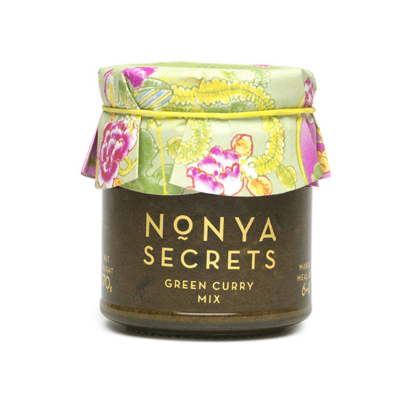 Green Curry Mix 170g by Nonya Secrets