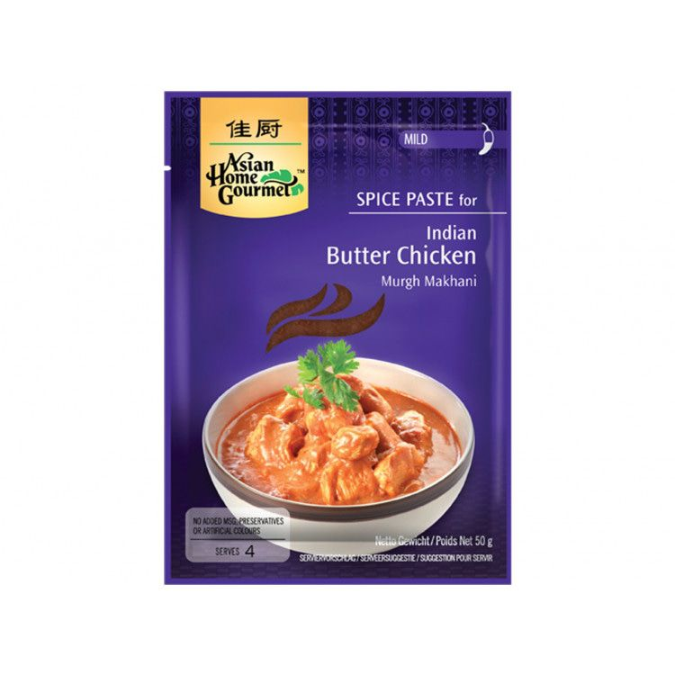 Indian Butter Chicken Sauce Packet 50g by AHG
