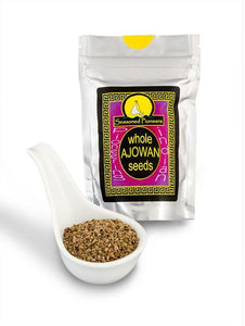 Whole Ajowan Seeds 21g by Seasoned Pioneers