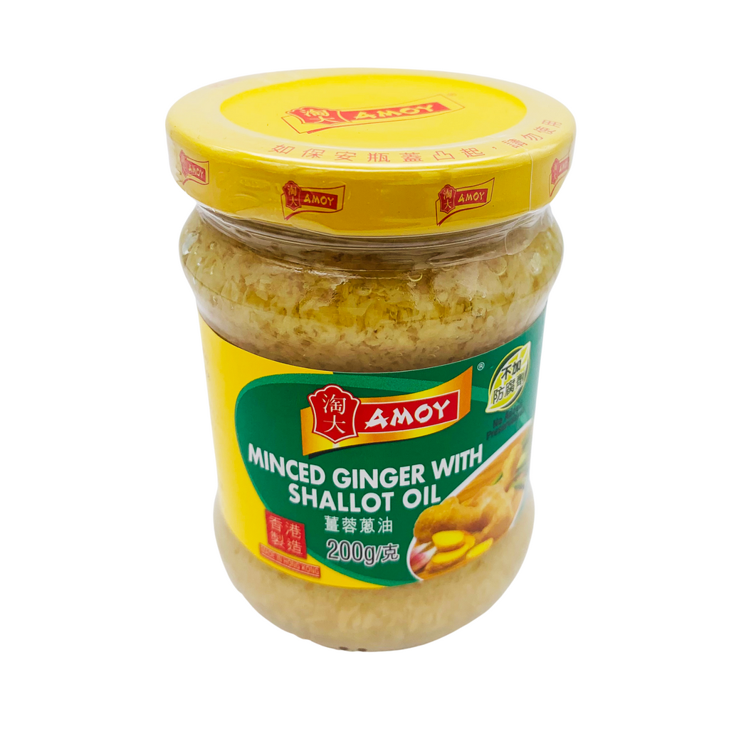 Asian Minced Ginger with Shallot Oil 200g by Amoy