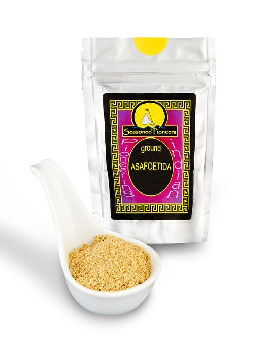 Ground Asafoetida 44g by Seasoned Pioneers