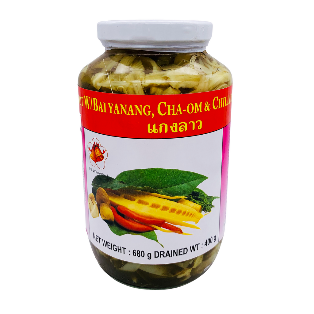Bamboo Shoot Bai Yanang Cha-Om Mushroom (680g) by Bell and Flower