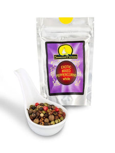 Whole Exotic Mixed Peppercorns 26g by Seasoned Pioneers