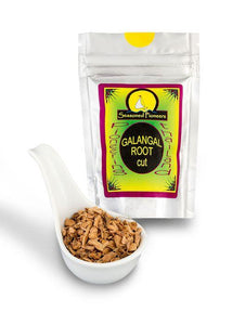 Dried Cut Galangal Root 19g by Seasoned Pioneers