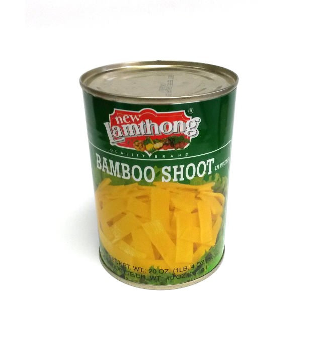 Thai Bamboo Shoot Slices (565g) by Lamthong