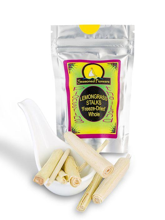 Lemongrass Stalks Freeze Dried 6g by Seasoned Pioneers