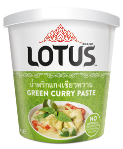 Thai Green Curry Paste 1kg Large Tub by Lotus