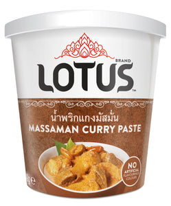 Thai Massaman Curry Paste 400g Tub by Lotus