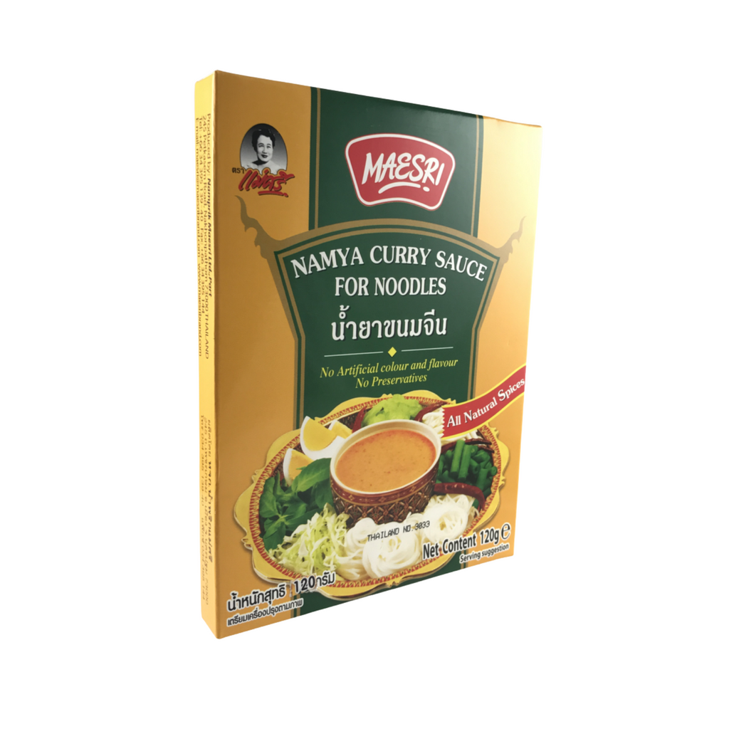 Thai Namya Curry Sauce for Noodles 120g by Mae Sri