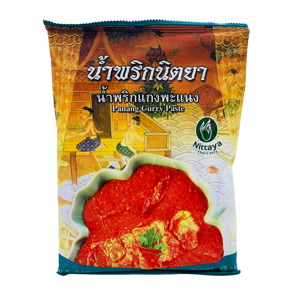 Thai Premium Panang Curry Paste (Large 1kg Packet) by Nittaya