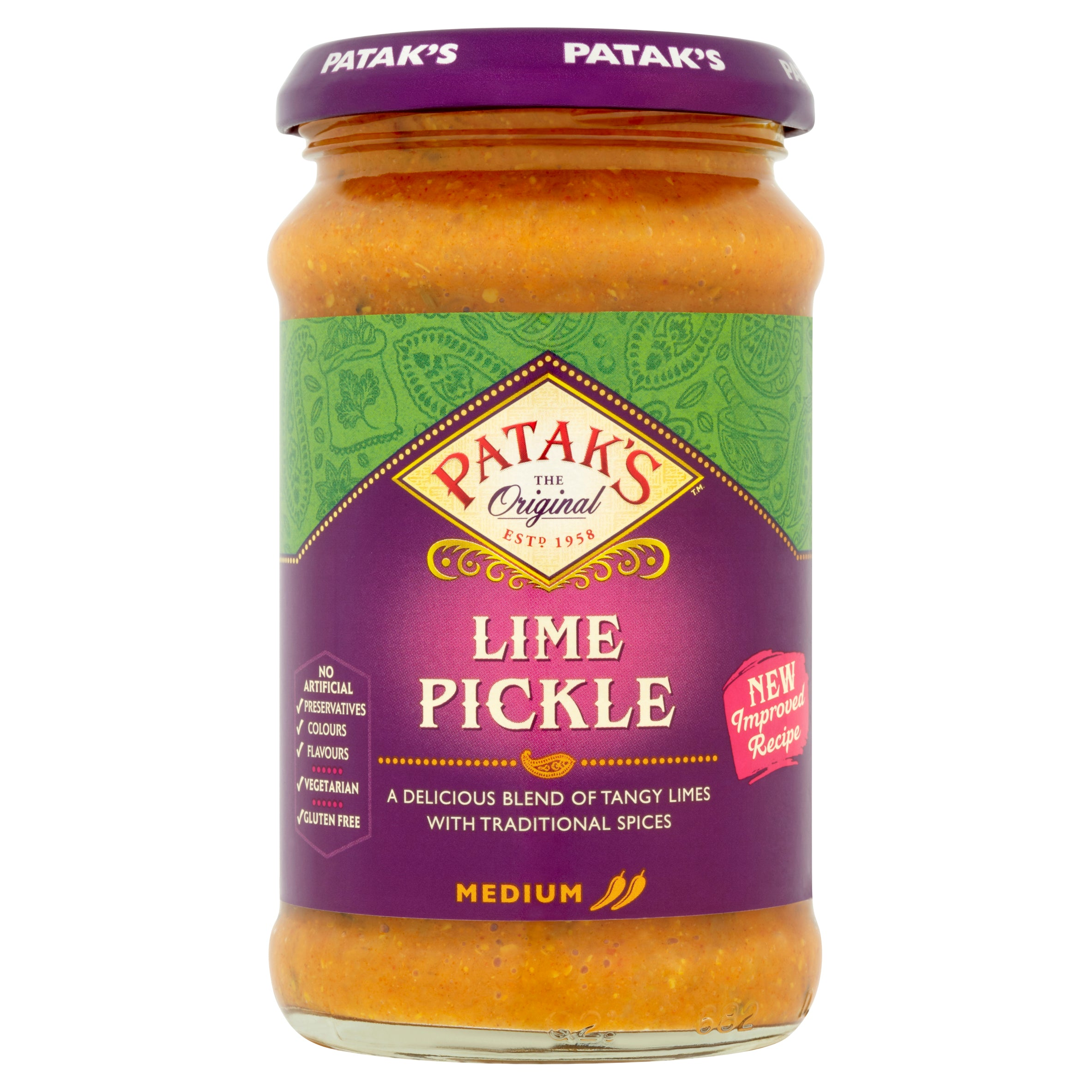 Lime Pickle (Medium) 283g by Patak's
