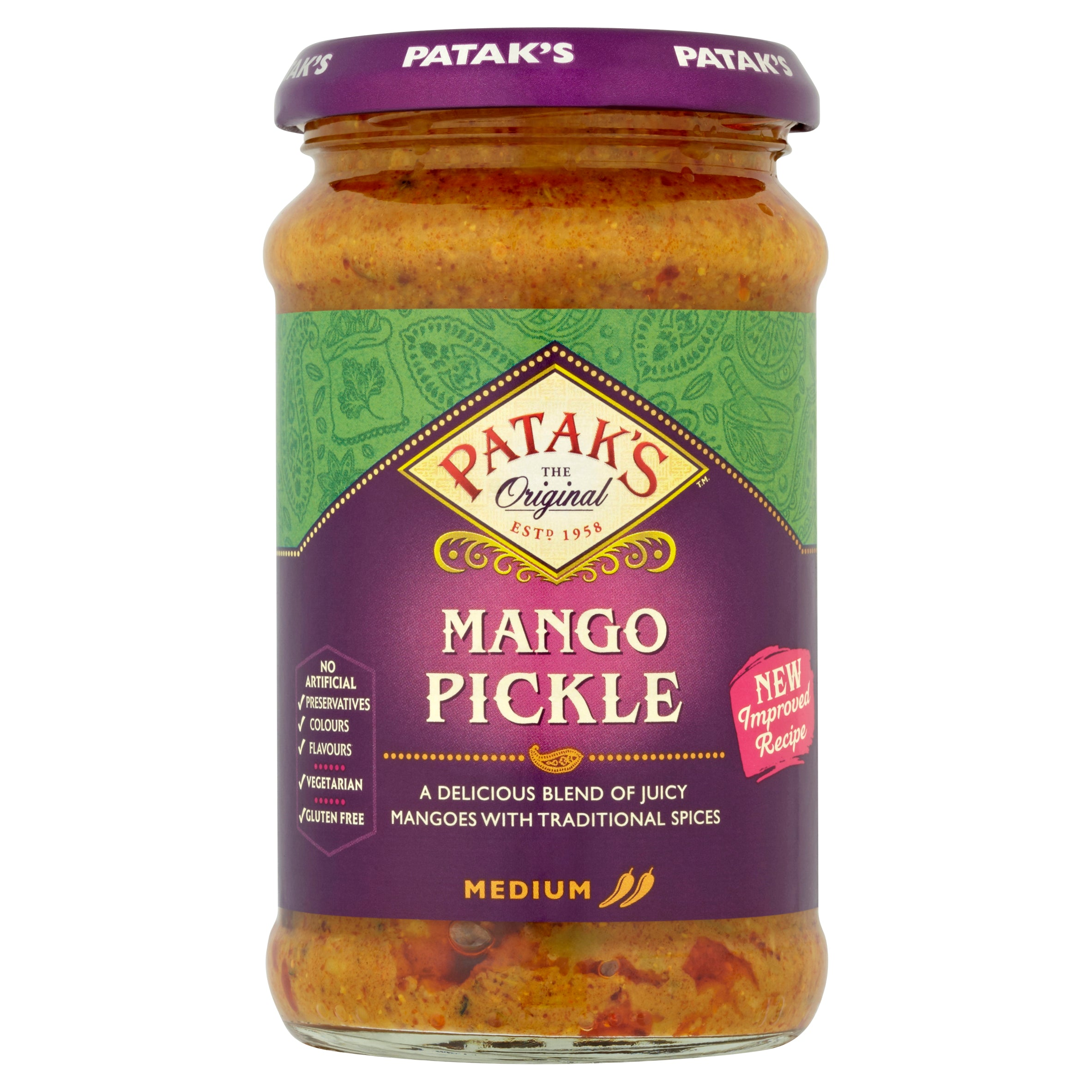 Mango Pickle (Medium) 283g by Patak's