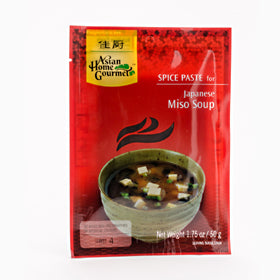 Japanese Miso Soup Spice Paste Packet 50g by AHG