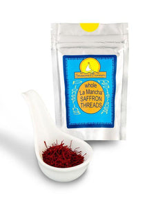 Whole Saffron Threads 'La Mancha' 1g by Seasoned Pioneers