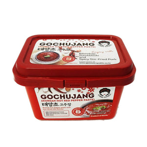 Korean Hot Red Pepper Paste Gochujang 500g by Ajumma Republic