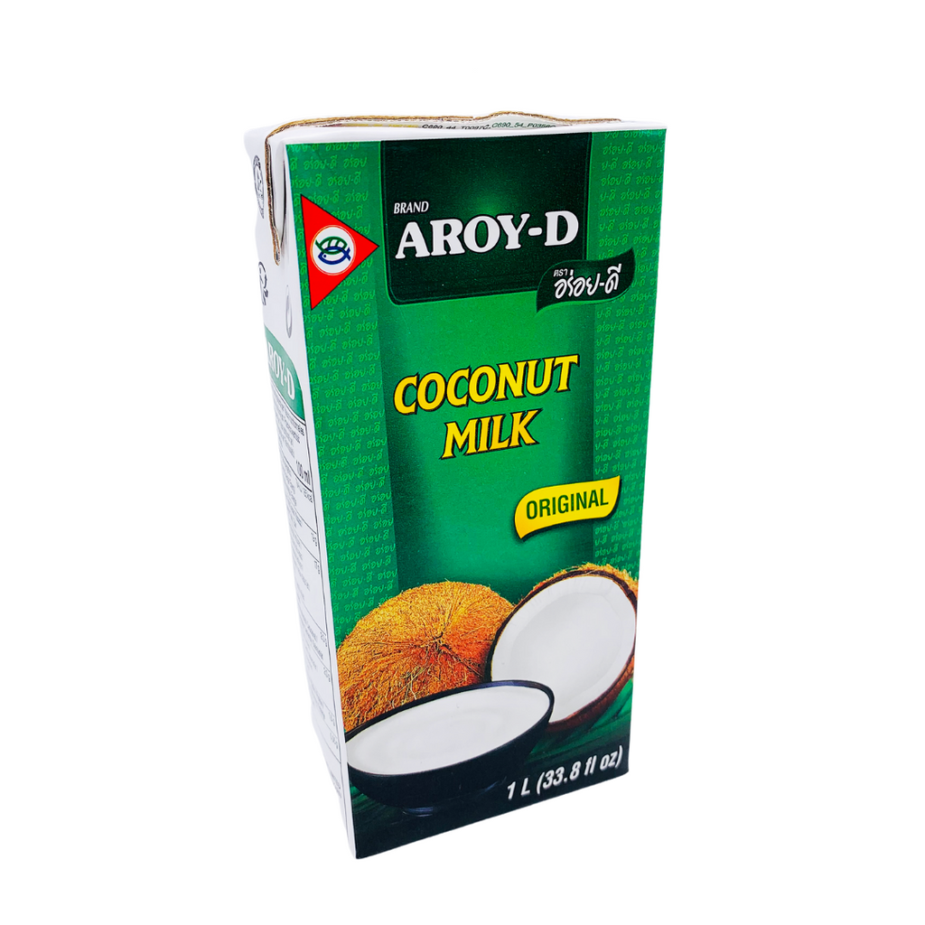 Thai Coconut Milk (1000 ml Tetrapack Carton) by Aroy-D