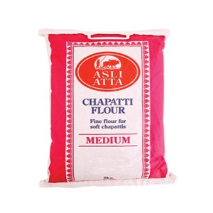 Medium Chapatti Flour 5kg by Asli Atta
