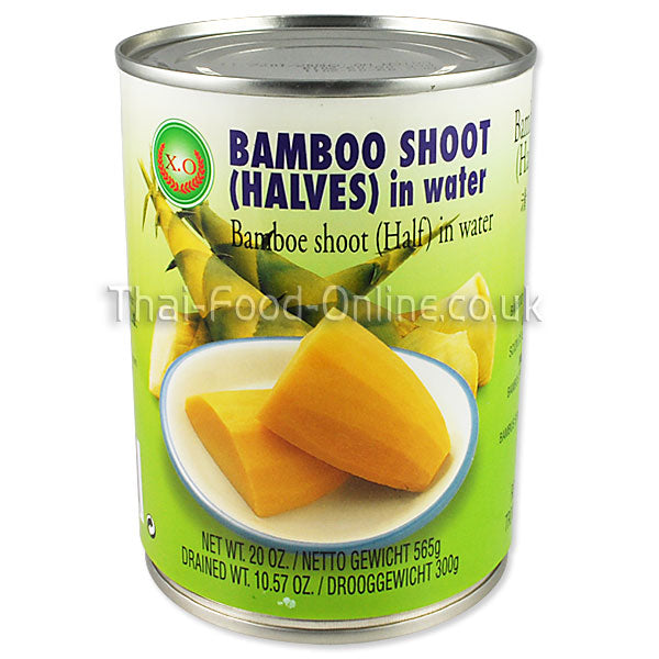 Thai bamboo shoot halves (565g can) by XO