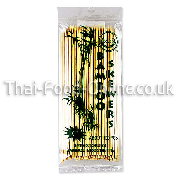 Bamboo Skewers (6 inch) - Thai Food Online (your authentic Thai supermarket)