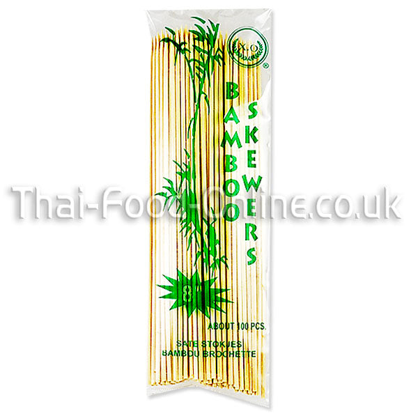 Bamboo Skewers (8 inch) - Thai Food Online (your authentic Thai supermarket)