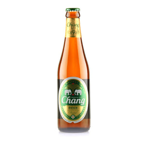 Thai Chang beer (330ml bottle) 5.0%