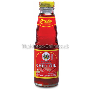 Thai chilli oil (200ml) by Pantai - Thai Food Online (your authentic Thai supermarket)