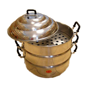 Aluminium Steamer - Thai Food Online (your authentic Thai supermarket)