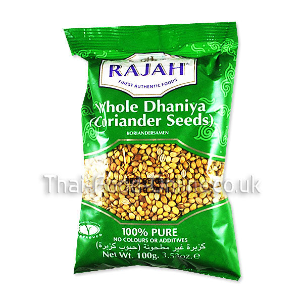 Coriander / Dhaniya Seeds (Whole) - Thai Food Online (your authentic Thai supermarket)