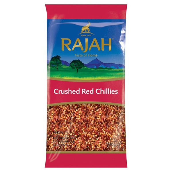 CRUSHED RED CHILLIES 200G BY RAJAH - Thai Food Online (your authentic Thai supermarket)