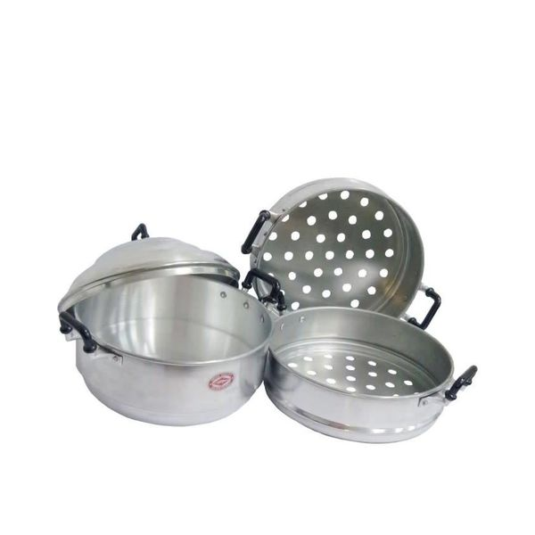 Thai Steam Pot/ Aluminium Steamer - 22cm by Diamond