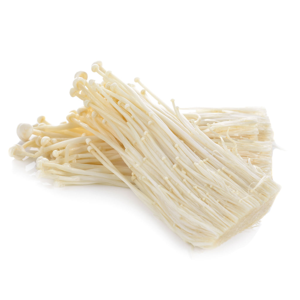 Fresh Thai Golden needle (Enoki / Inoke) Mushrooms 100g - imported weekly from Thailand