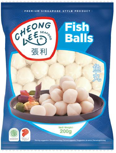 Frozen Fish Balls 200g by Cheong Lee
