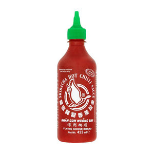 Sriracha Hot Chilli Sauce 455ml - Thai Food Online (your authentic Thai supermarket)