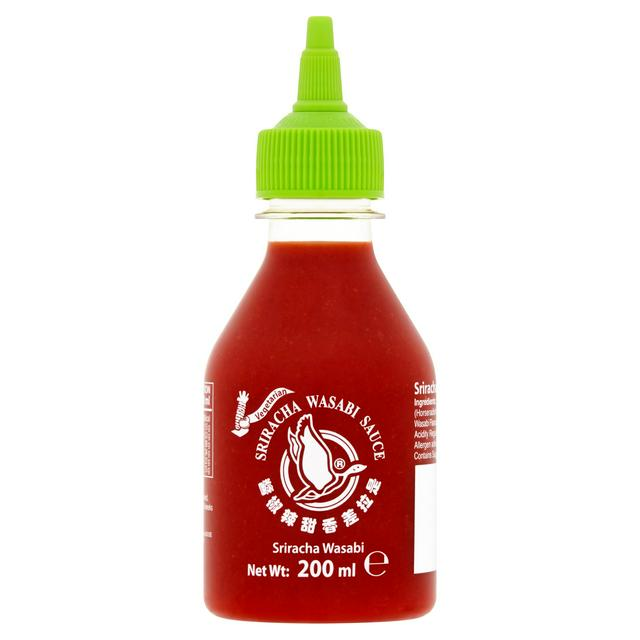 Thai Sriracha Wasabi Sauce 200ml by Flying Goose