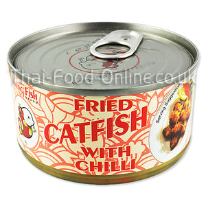 FRIED CATFISH WITH CHILLI 90G BY SMILING FISH - Thai Food Online (your authentic Thai supermarket)