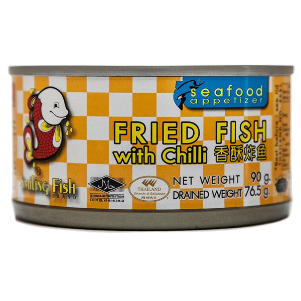 Fried Fish with Chilli (90g) by Smiling Fish