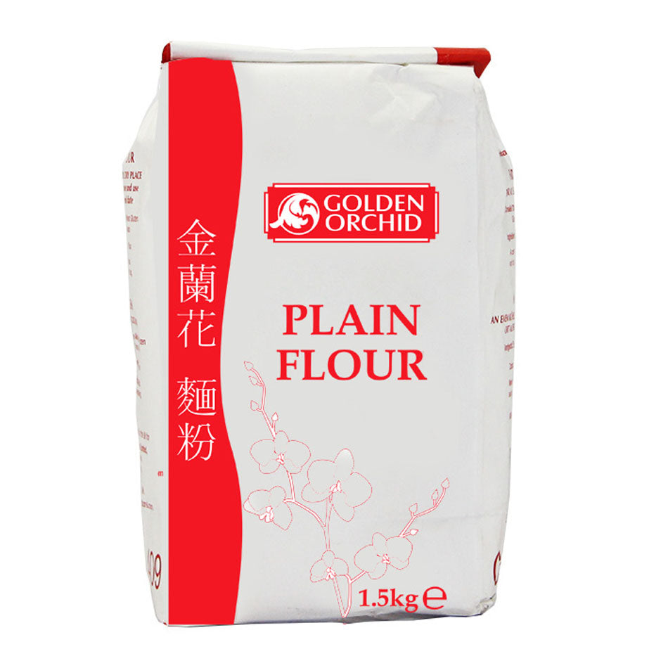 Plain flour (1.5kg) by Golden Orchid