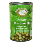 Straw mushrooms (425g can) by Golden Swan
