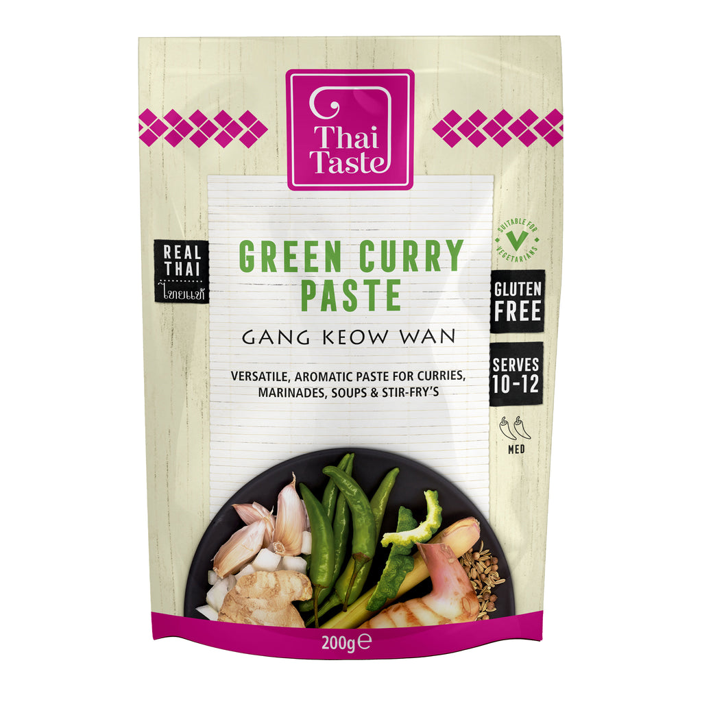 Thai Green Curry Paste (Gang Keow Wan) 200g by Thai Taste