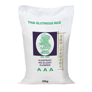 *REDUCED* Glutinous Sticky Rice 20kg by Green Dragon