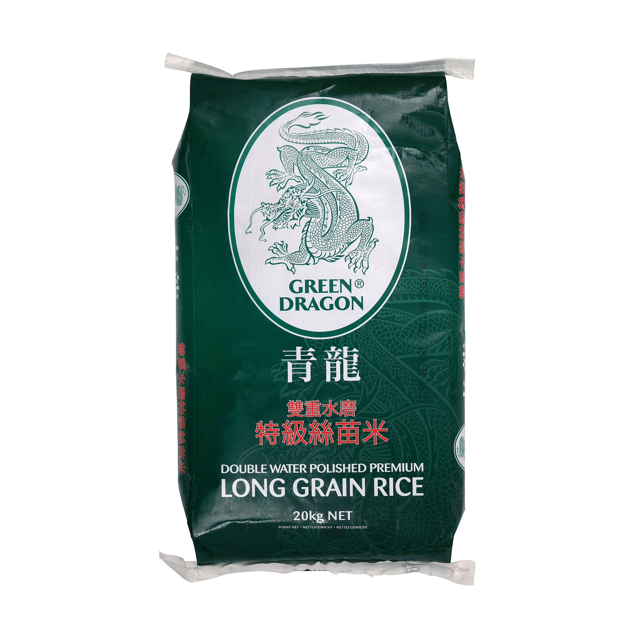 Premium Long Grain Rice 20kg by Green Dragon