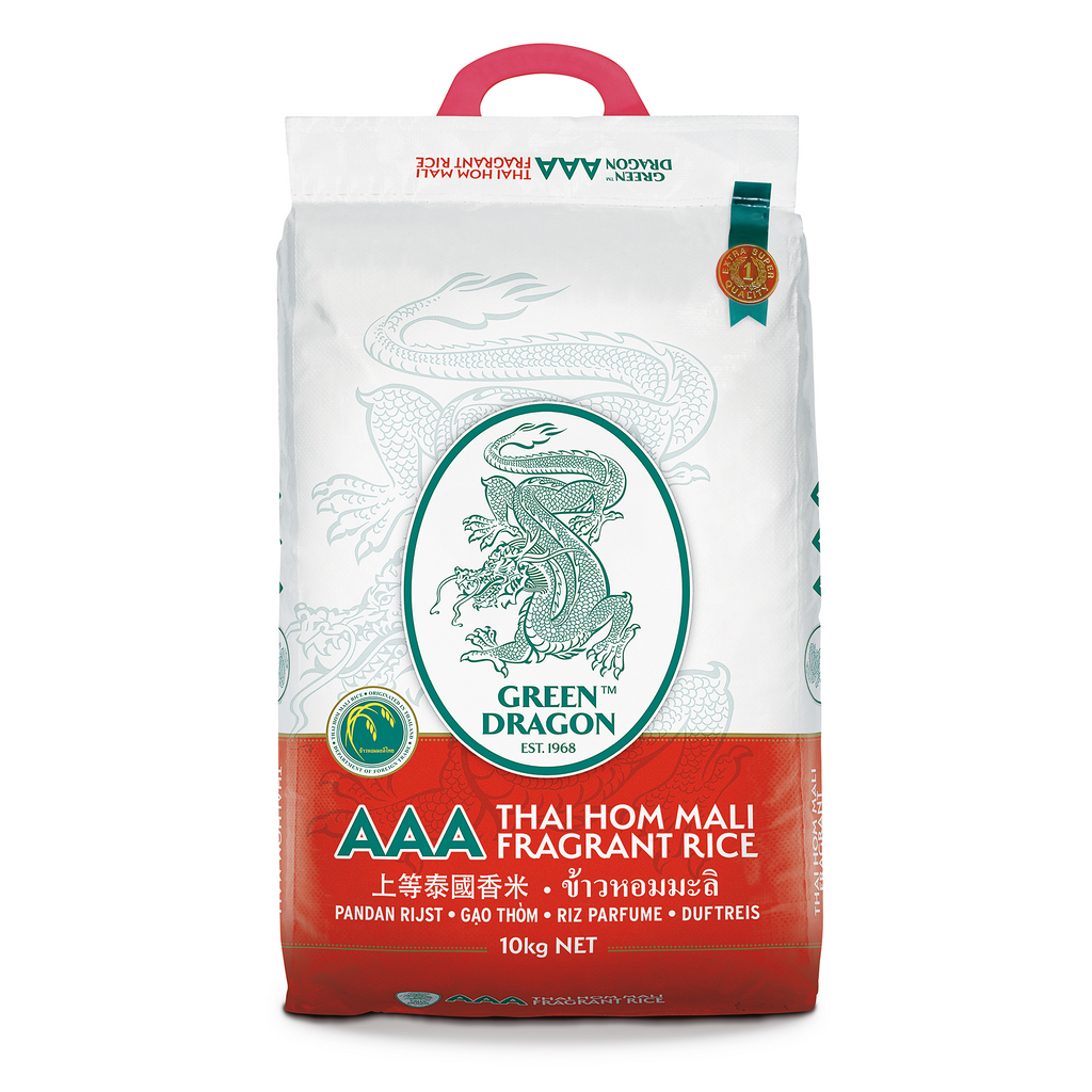 Thai Fragrant Rice 10kg by Green Dragon