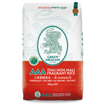 Thai Fragrant Rice 20kg by Green Dragon