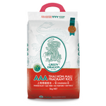 Thai Fragrant Long Grain White Rice 5kg by Green Dragon