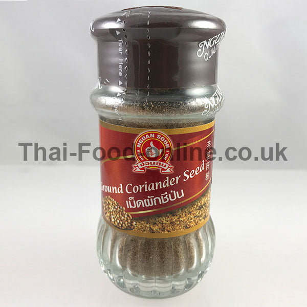 CORIANDER SEED POWDER (BOTTLE) 35G BY NGUAN SOON - Thai Food Online (your authentic Thai supermarket)