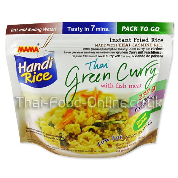 Thai Handi rice (green curry with fish balls) 80g by Mama